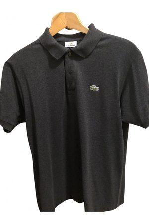 Lacoste Anthracite Cotton Polo Shirts