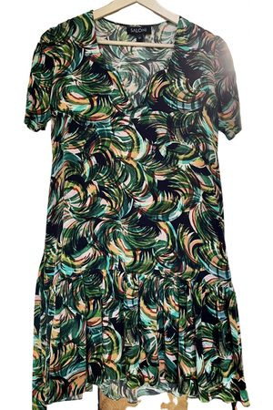 SALONI Silk mini dress