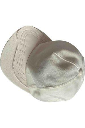 Dior Ecru Cotton Hats & Pull ON Hats