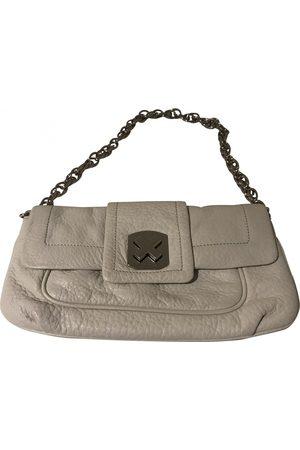 Calvin Klein Women Clutches - Leather clutch bag