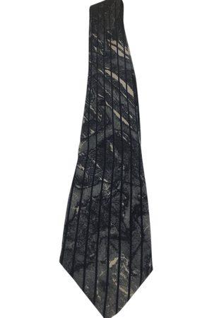 CLAUDE MONTANA Silk tie