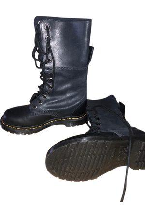 Dr. Martens Leather biker boots