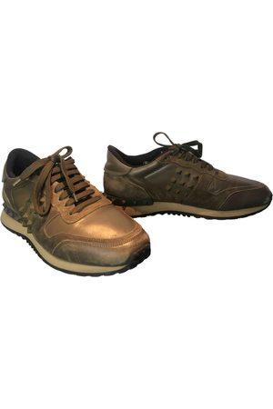 VALENTINO GARAVANI Rockrunner leather low trainers