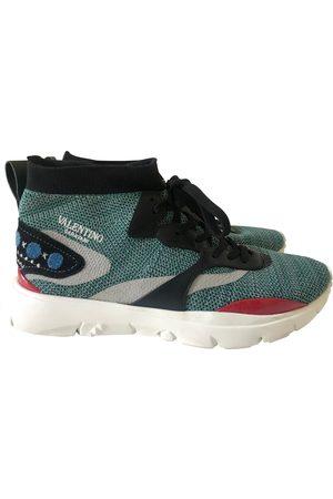 VALENTINO GARAVANI Cloth high trainers