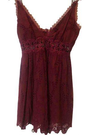 ZIMMERMANN Burgundy Silk Dresses