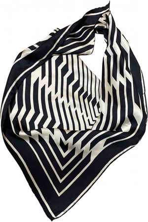 Avec Modération Multicolour Silk Scarves