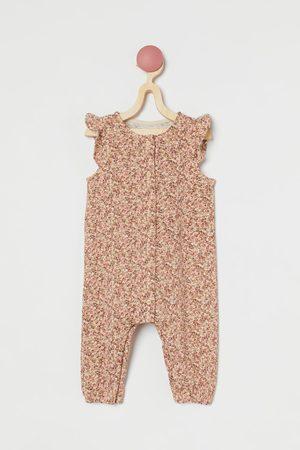 H&M Slub Jersey Romper Suit