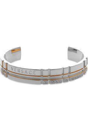 VERSACE Men Bracelets - Logo Geometric Bangle