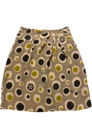 Cacharel Silk mini skirt