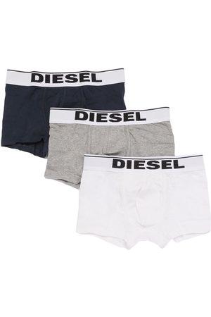 Diesel Set Of 3 Cotton Jersey Boxer Briefs