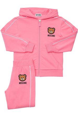 Moschino Girls Hoodies - Toy Patch Sweatshirt Hoodie & Sweatpants