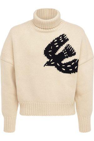 Alexander McQueen Men Turtlenecks - Wool & Cashmere Knit Turtleneck Sweater