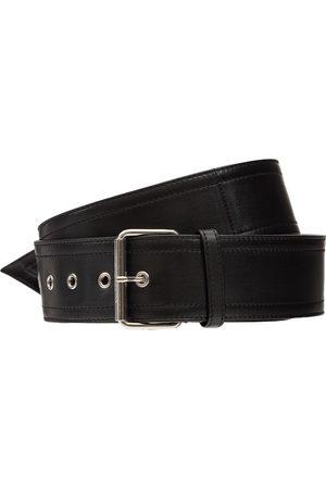 Alexander McQueen Leather Long Belt