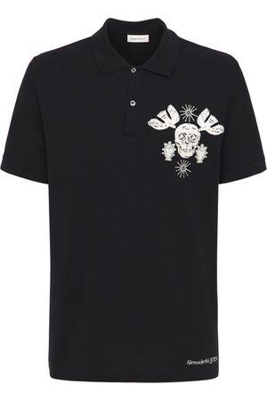 Alexander McQueen Skull Embroidery Polo