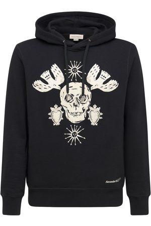 Alexander McQueen Skull Cotton Sweatshirt Hoodie