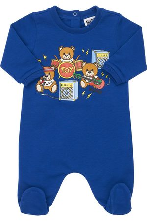 Moschino Toy Band Cotton Romper