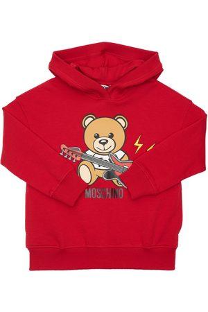 Moschino Toy Guitar Cotton Sweatshirt Hoodie