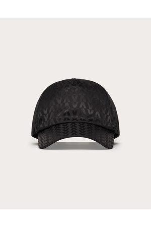 VALENTINO GARAVANI Men Caps - Optical Valentino Baseball Cap Man 100% Polyester 57
