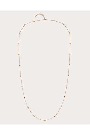 VALENTINO GARAVANI Women Necklaces - Metal Rockstud Necklace Women 100% Brass OneSize