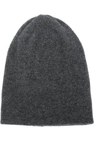 Brunello Cucinelli Knitted cashmere beanie - Grey
