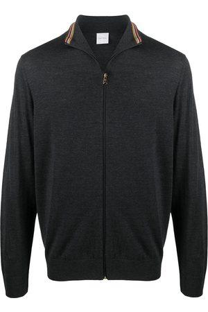 Paul Smith Men Cardigans - Fine knit cardigan - Grey