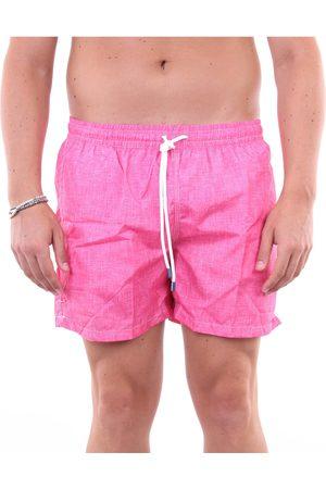 FEDELI Men Shorts - Sea shorts Men Fuchsia
