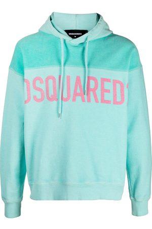 Dsquared2 Men Hoodies - Logo-print drawstring hoodie