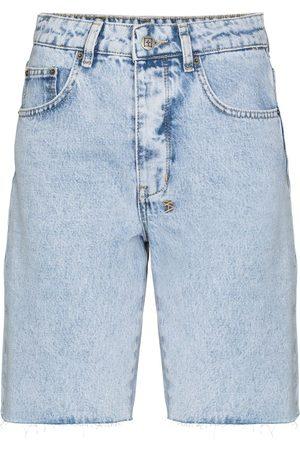 KSUBI Women Shorts - Brooklyn high-rise denim shorts