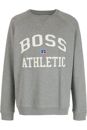 HUGO BOSS Moletom x Russell Athletic - Grey