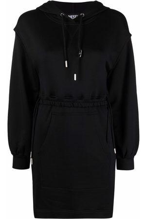 Diesel Cut-out detail hoodie dress
