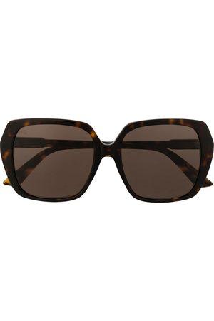 Gucci Eyewear Women Square - Oversized square-frame sunglasses