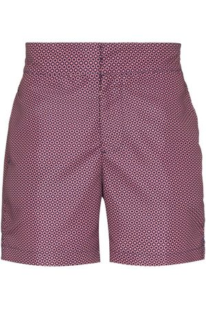 Frescobol Carioca Abstract-print swim shorts