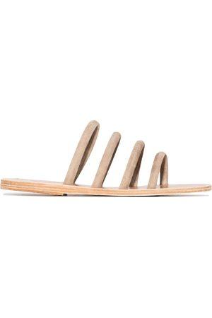 Ancient Greek Sandals Lyra suede sandals