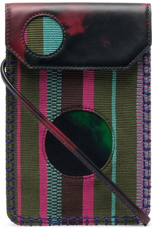 Karl Lagerfeld X Kenneth Ize phone bag