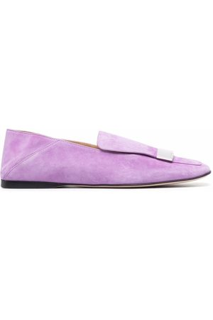 Sergio Rossi Sr1 suede loafers