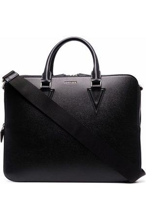 VERSACE Logo-embellished briefcase