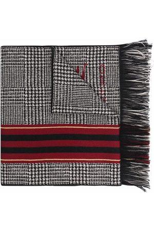 Etro Check print scarf