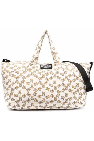 Moschino Baby Changing Bags - All-over teddy changing bag