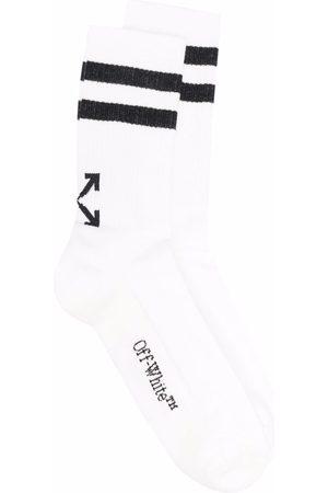 OFF-WHITE Socks - Striped Arrow socks - 0110