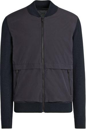 Z Zegna Men Bomber Jackets - Hydro wool bomber jacket