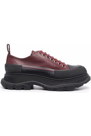 Alexander McQueen Women Sneakers - Tread Slick lace-up sneakers