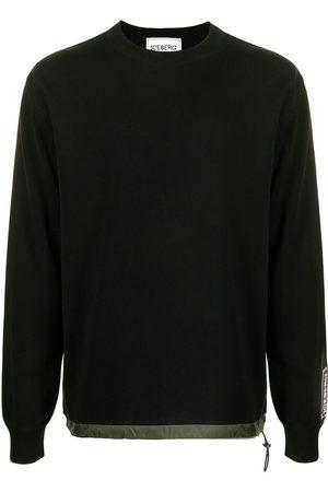 Iceberg Men Sweatshirts - Drawstring waist sweatshirt