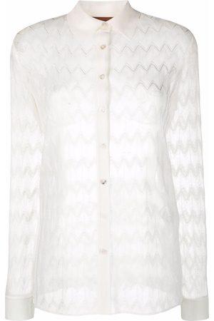 Missoni Zigzag-woven longsleeved shirt