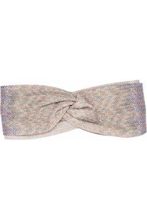 Missoni Women Scarves - Signature-knit head-scarf