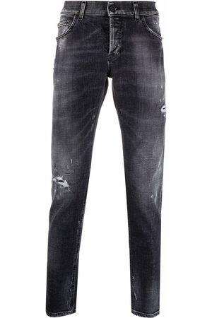 DONDUP Men Skinny - Distressed denim jeans