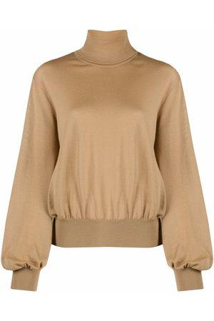 Moschino Roll-neck virgin wool jumper - Neutrals