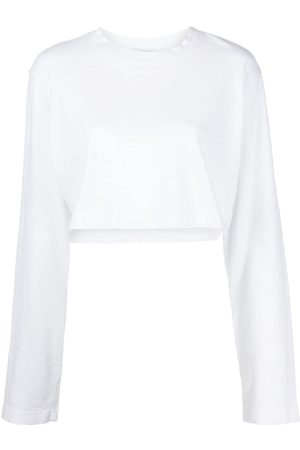 Cotton Citizen Cropped long-sleeve top