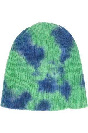 The Elder Statesman Women Beanies - Tie-dye cashmere beanie