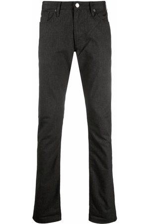 Emporio Armani Men Slim - Mid-rise slim-fit jeans