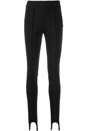 Helmut Lang Stirrup-cuff slim trousers